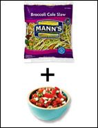 ((0WWPP))--HG suggested duos!  This one is broccoli slaw and pico...NO POINTS..and a filling food!