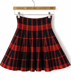 Shop Red Plaid Ruffle Knit Skirt online. Sheinside offers Red Plaid Ruffle Knit Skirt & more to fit your fashionable needs. Free Shipping Worldwide!