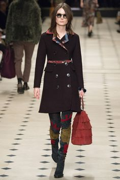 Burberry Prorsum, Осень-зима 2015/2016, Ready-To-Wear, Лондон