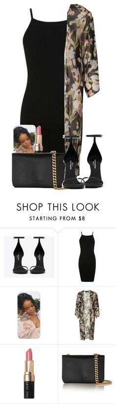 """""""Untitled #2101"""" by alisha-caprise ❤ liked on Polyvore featuring Yves Saint Laurent, Miss Selfridge, Topshop, Bobbi Brown Cosmetics and Jil Sander"""