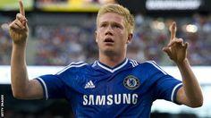 BBC Sport - Kevin de Bruyne: Wolfsburg sign Chelsea midfielder