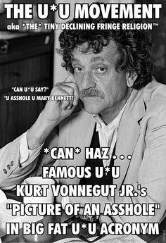 Kurt Vonnegut Kurt Vonnegut, S Pic, Einstein, Sayings, Memes, Lyrics, Meme, Quotations, Idioms