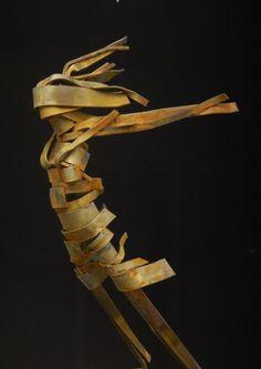 Facing the Elements Blindfolded. Steel,  Shielded Metal Arc Welding, 63 cm. 2014, Ruud Schrijvershof.