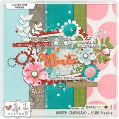 FREE Winter Candyland BY Red Ivy Design -- This freebie will only be available for 24 hours !!!