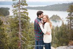 The breathtaking view at 6600 feet overlooking Lake Tahoe's Emerald Bay is a majestic setting for a wedding proposal. Photo Credit: Fifth & Chestnut Best Proposals, Marriage Proposals, Love Your Life, Lake Tahoe, Photo Credit, Helpful Hints, How To Memorize Things, House Design, How To Plan