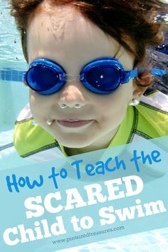 Do you have a child who is scared of the water and doesn't want to learn how to swim? Here are some awesome tips to teach the scared child to swim! @alicanwrite