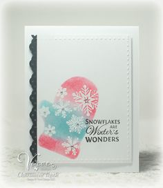 Card by Charmaine Ikach using Verve Stamps.  #vervestamps