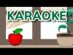 Červené jabĺčko (karaoke) - YouTube Karaoke, Make It Yourself, Education, Youtube, Teaching, Training, Educational Illustrations, Learning, Youtubers