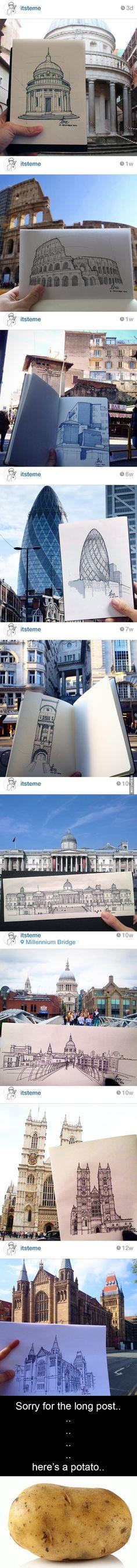 Urban sketching level : asian