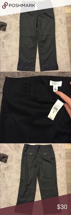 🆕 Loft Ann Fit Black Dress Pants Sz 8 NWT ☀️ Brand new with tags! Thank you for looking! LOFT Pants Straight Leg