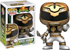 Power Rangers - White Ranger Funko Pop! Vinyl Figure