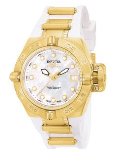 Invicta Watches Women's Subaqua IV Lady Gold Watch