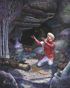 Trouver le trésor dans la cave - ©Ali Baba