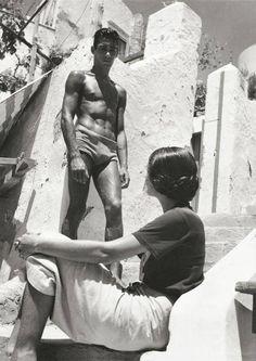 Herbert List - Flirt in Capri Italy, 1936 fotografia artistica