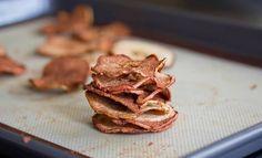 Chips au pomme - Recette d'automne | Bulles + Bottillons