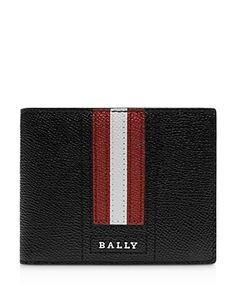 Bally Men's Tevye Trainspotting-stripe Wallet In Black Slg, Small Leather Goods, Men's Accessories, Leather Wallet, Wallets, Louis Vuitton, Mens Fashion, Black, Purses
