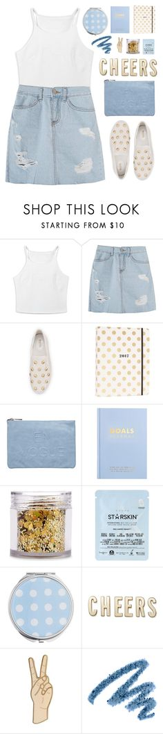 """""""Cheers"""" by amazing-abby ❤ liked on Polyvore featuring MICHAEL Michael Kors, Kate Spade, Miss Selfridge, kikki.K, The Gypsy Shrine, Starskin, Lucky Brand and Yves Saint Laurent"""