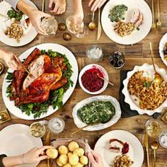 Thanksgiving is about celebrating. A nice thanksgiving dinner is a must. Saveur has put together a 12 dish menu for a complete Thanksgiving dinner. First Thanksgiving, Thanksgiving Recipes, Holiday Recipes, Hosting Thanksgiving, Friends Thanksgiving, Vegetarian Thanksgiving, Thanksgiving Celebration, Holiday Appetizers, Potluck Recipes