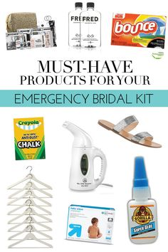 Must-Have Products For Your Emergency Bridal Kit | theglitterguide.com