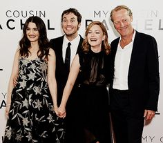 Actors Rachel Weisz, Sam Claflin, Holliday Grainger and Iain Glen attend the World premiere of 'My Cousin Rachel' at Picturehouse Central in London, United Kingdom. (06.07.2017)