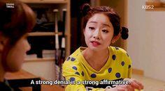Tumblr Jung Hye Sung, Chief Kim, Namgoong Min, Kim Sang, Drama Quotes, Thai Drama, Denial, Korean Drama, Kdrama