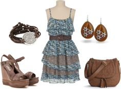 """""""Summer in the country"""" by leslie-giaudrone-berends on Polyvore"""