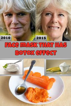 Learn how to make a face mask that has Botox effect.
