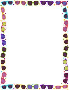 Glasses Border