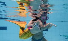Making a splash at the Mermaid Academy - PhotoBlog