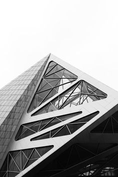 Geometric Architecture - black & white photography