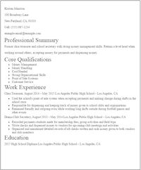 Resume With No Experience Template Free Resume Templates No Strings Attached  Free Resume Templates .