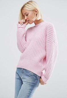 This waffle it-knit is the one for wearing with decon jeans and buckle boots to lunch, or waist-belting over your fave wedding-guest dress for easy extra style mileage