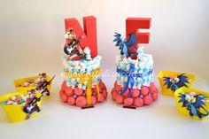 Sweet Table Alvin e Pokemon Charizard | | Fate di Zucchero - Cake Designers