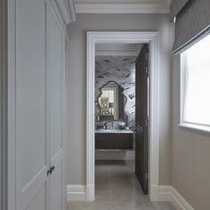 The poshest loo we've ever designed! #wallpaper #degournay #interiors #interiordesign #luxuryinteriors #sophiepatersoninteriors
