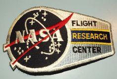 Vintage NASA Flight Research Patch (1990s)