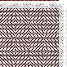 Hand Weaving Draft: N. 4, Weber Kunst und Bild Buch, Marx Ziegler, 4S, 4T - Handweaving.net Hand Weaving and Draft Archive