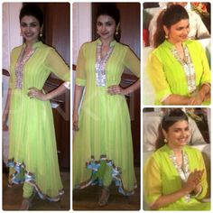 Prachi Desai in Kanika Kedia: YaY or NaY?