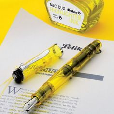 Highlighter Fountain Pen