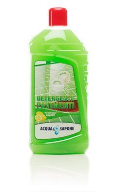 Detergente Pavimenti Freschezza Limone 1.500 ml