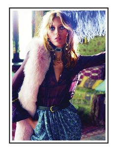 Anja Rubik by Inez & Vinoodh for Vogue Paris September 2011 | Fashion Gone Rogue: The Latest in Editorials and Campaigns