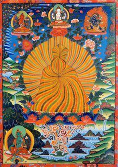 Rainbow body/Pure Land/Dzogchen