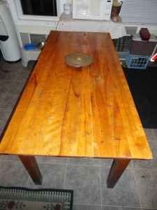 Old School 6 Foot Craft Table - $120 (Milford,Mass)