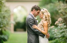 Natural light portrait - bride and groom before wedding