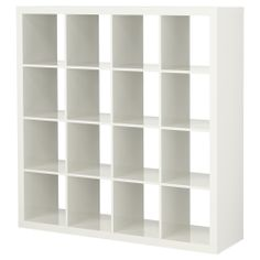 EXPEDIT Shelving unit - high gloss white - IKEA perfect for playroom storage