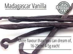 Madagascar vanilla #spices #food #cooking