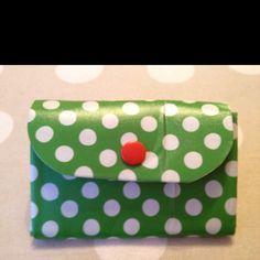 Homemade wallet <3