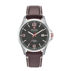Swiss Military saddlebrown,silver Men Watches 100% Genuine & Affordable With Free Shipping