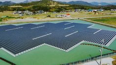 Construction has been completed on two enormous floating solar power plants located in the Nishihira Pond and Higashihira Pond in Kato City, Japan. The combined output of the solar plants will be around 3,300 megawatt hours (MWh) per year, and provide electricity to an estimated 920 households.