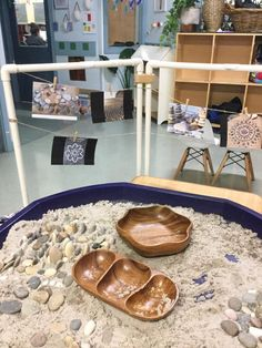 Simple Sand, Mud Kitchen and Digging Play Spaces for Children