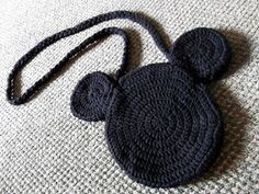 Mule 'n Nag Crafts: Crochet Mickey Mouse Bag Pattern